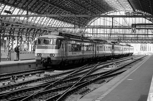 Train Station - Amsterdam